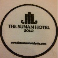 Photo taken at The Sunan Hotel Solo by Damar M. Wijaya @. on 4/11/2013