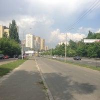 Снимок сделан в Голосеевская площадь пользователем Alexandr O. 5/14/2013