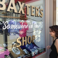 """Photo taken at Baxter's """"Somewhere In Time"""" Shop by W M. on 7/12/2013"""