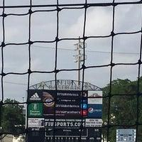 Photo taken at FIU Baseball Stadium by Prevart J. on 4/18/2014