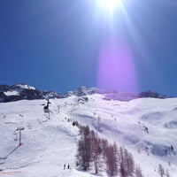 Photo taken at Les Grands Montets by Xav B. on 4/14/2013