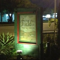 Photo taken at The Field Irish Pub & Eatery by Michael A. on 3/10/2013