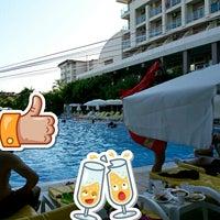 6/25/2017 tarihinde 👑Merve Asel Ş.ziyaretçi tarafından Primasol Telatiye Resort'de çekilen fotoğraf