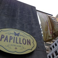 Photo taken at Papillon Bistro and Bar by Evan L. on 7/29/2013