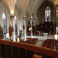 Photo taken at Cathedral of the Immaculate Conception by Dan R. on 11/25/2012