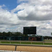 Photo taken at Tampa Bay Downs by Marissa N. on 5/4/2013