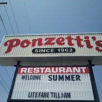 Photo taken at Ponzetti's Pizza by Robert B. on 5/22/2014
