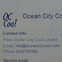 Photo taken at Ocean City Cool by Robert B. on 2/13/2014