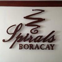 Photo taken at Spirals Boracay by Vanessa C. on 3/7/2013