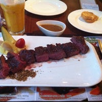 Photo taken at SuperSteak 超级牛扒 by Andre C. on 7/7/2013