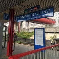 Photo taken at Saint-Quentin-en-Yvelines by Atsushi K. on 8/14/2015