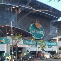 Photo taken at Talaad Thai by ขี้เมา ณ. on 3/21/2013