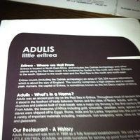 Photo taken at Adulis by Jennifer C. on 3/1/2013
