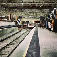 Photo taken at Perth Station by Phil D. on 1/6/2013