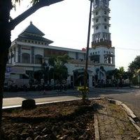 "Photo taken at Masjid ""Agung"" Baiturrahman by tinton h. on 8/6/2013"