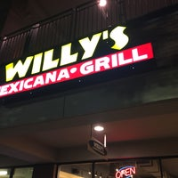 Photo taken at Willy's Mexicana Grill by Christian K. on 8/3/2016