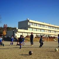 Photo taken at Tobio ES by Hiroyuki K. on 12/7/2013
