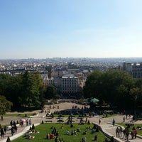 Photo taken at Montmartre by Florin G. on 9/24/2013
