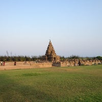Photo taken at Shore Temple by Chino W. on 4/7/2013