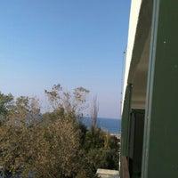 Photo taken at Sun Beach Hotel Thessaloniki by Kübra Ç. on 11/7/2015