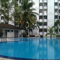 Photo taken at Swimming Pool Fawina Court Condominium by banha r. on 2/20/2013
