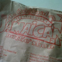 Photo taken at De Original Jamaican Pattie Shop by Patrick U. on 2/20/2013