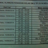 Photo taken at SMA Negeri 1 Kasihan by Krizya C. on 6/9/2014