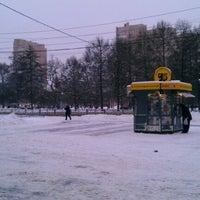 Photo taken at Площадь Мужества by Evgeniy K. on 12/9/2012