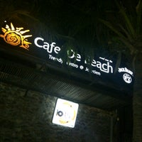 Photo taken at Cafe' De Beach by MYday creation on 4/11/2013