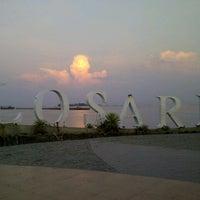 Photo taken at Pantai Losari by Taufan O. on 11/6/2012