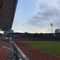Photo taken at Stadium KLFA Cheras by Azmeer M. on 8/24/2017