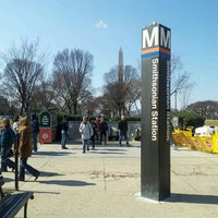 Photo taken at Smithsonian Metro Station by Veronica C. on 2/24/2013