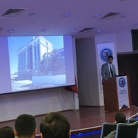 Photo taken at Faculty of Tourism by Can K. on 10/4/2016