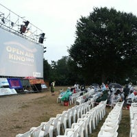 Photo taken at Open Air Kino Bad Vilbel by zolagola on 7/26/2015