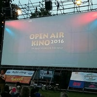 Photo taken at Open Air Kino Bad Vilbel by zolagola on 7/24/2016