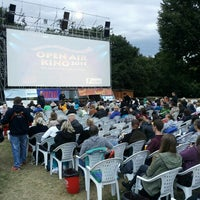 Photo taken at Open Air Kino Bad Vilbel by zolagola on 7/30/2015