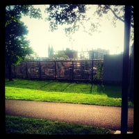 Photo taken at Southwest Corridor Park by Ethan Miguel S. on 5/30/2013