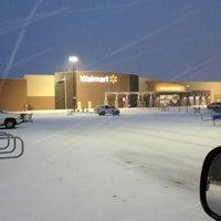 Photo taken at Walmart Supercenter by Brooks J. on 1/25/2013