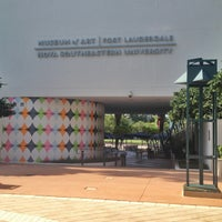 Photo taken at Museum of Art Fort Lauderdale by Ashley T. on 4/26/2013