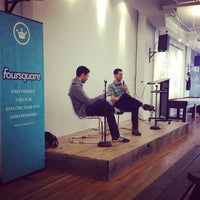 Photo taken at Foursquare HQ by Jessica A. on 10/3/2013