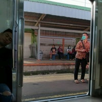 Photo taken at Stasiun Citayam by Djony H. on 4/4/2017