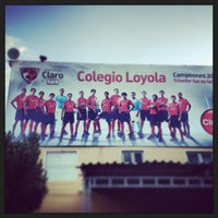 Photo taken at Colegio Loyola by Hector P. on 1/18/2013