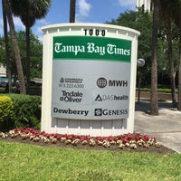 Photo taken at Tampa Bay Times | tampabay.com by Steve R. on 5/3/2016