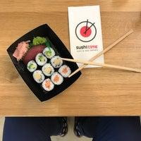 Photo taken at Sushi Time by Ondrej F. on 10/25/2016