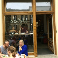 Photo taken at distrikt COFFEE by Ondrej F. on 8/21/2016