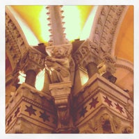 Photo taken at Basilica of Notre-Dame de Fourvière by Laurence V. on 2/2/2013