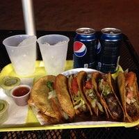 Photo taken at La Mejicana Tacos by Jay D. on 3/17/2014