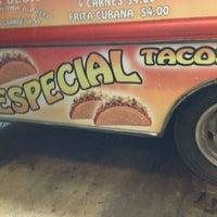 Photo taken at La Mejicana Tacos by Jay D. on 1/19/2013