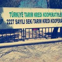 Photo taken at 2227 SAYILI SEKİ TARIM KREDİ KOOPERATİFİ by Süleyman G. on 4/24/2015
