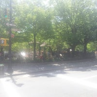 Photo taken at Bleecker Playground by Andres V. on 5/14/2013